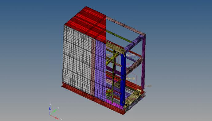振動源を内蔵する装置の騒音予測振動源を内蔵する装置の固有振動解析